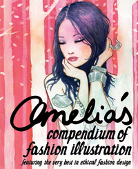 amelia's compendium of fashion illustration book cover andrea peterson