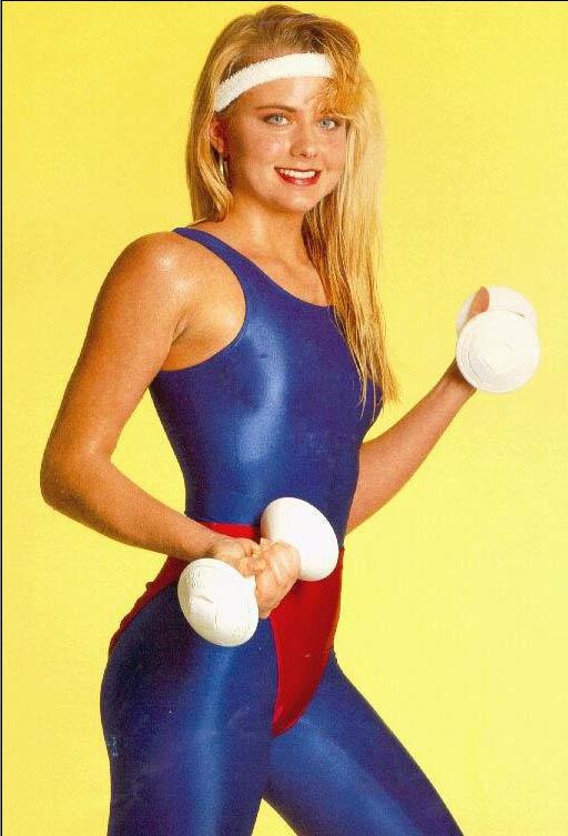 Spandex Girls Women In Spandex Workout Wear