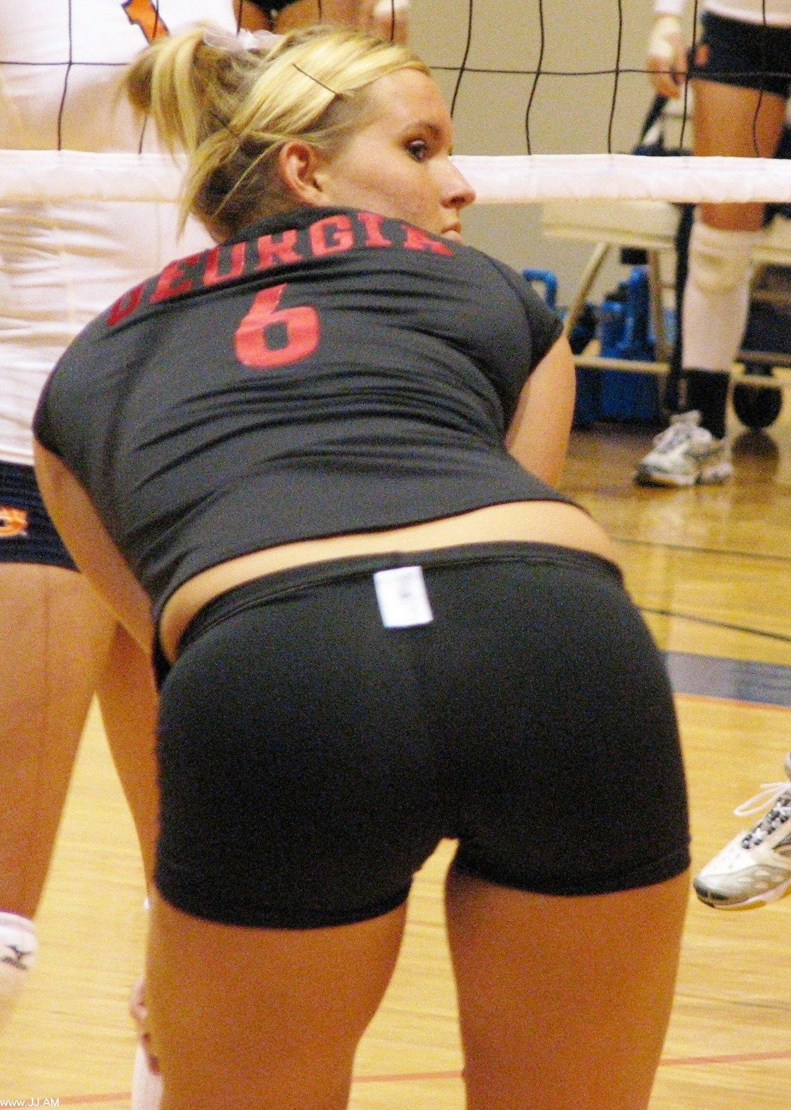 Volleyball girls asses