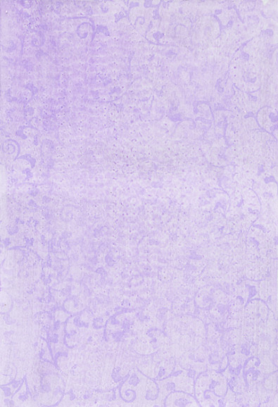 Lavender Tone On Stamped Background