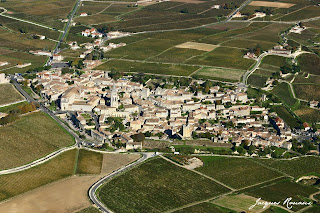 photo aérienne Saint Emilion