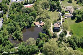 Photo aérienne du Château de La Prade à Saint Médard d'Eyrans