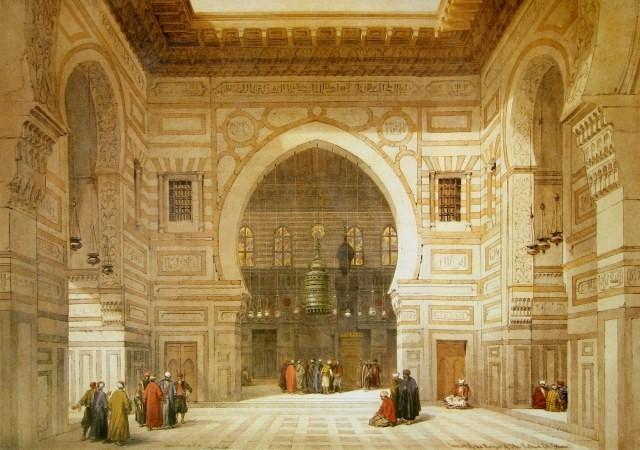 [David_Roberts_-_Interior_of_the_Mosque_of_the_Sultan_El_Ghoree.jpg]
