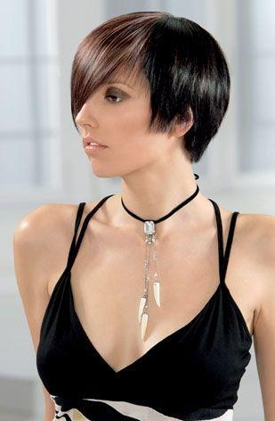 black short hairstyles. lack short hair styles