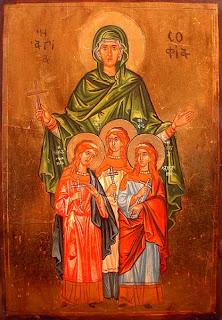 Вяра, Надежда и Любов - Света София