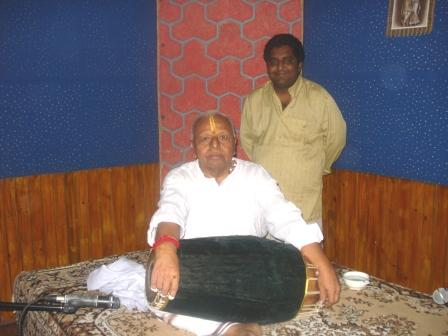 sriram with dr.t.k.moorthy