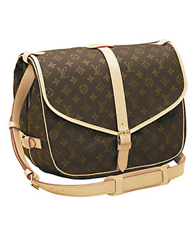Louis Vuitton Monogram Canvas Saumur