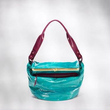 Devi Kroell Patent Frame Bag