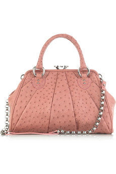 Marc Jacobs Stam ostrich tote