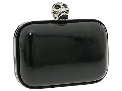 Alexander McQueen Skull Clasp Clutch