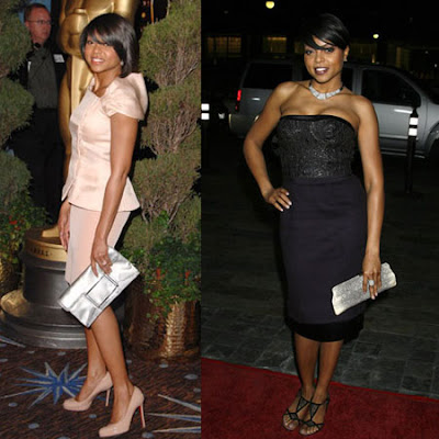 Taraji-P-Henson-loves-her-Lambertson-Truex-Signature-Framed-Clutch-in-Ring-Lizard-and-Paxton-Clutch-in-metallic-silver