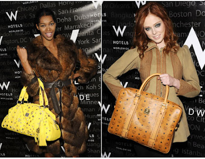 Models-Jessica-White-and-Coco-Rocha-at-MCM-(Mode-Creation-Munich)-Assouline-Campaign-at-W-Hotels-VIP-Lounge