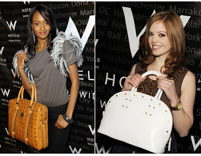 Gossip-Girl's-Nicole-Fiscella-and-Dreama-Walker-at-MCM-(Mode-Creation-Munich)-Assouline-Campaign-at-W-Hotels-VIP-Lounge