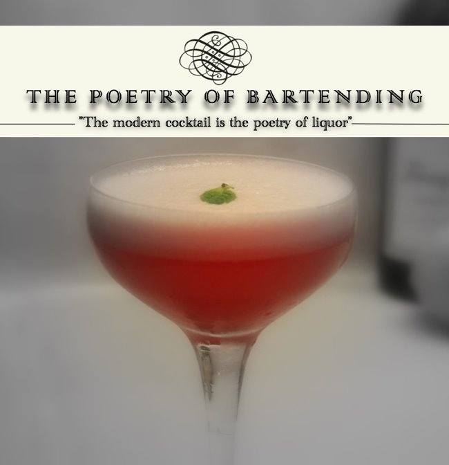 THE POETRY OF BARTENDING