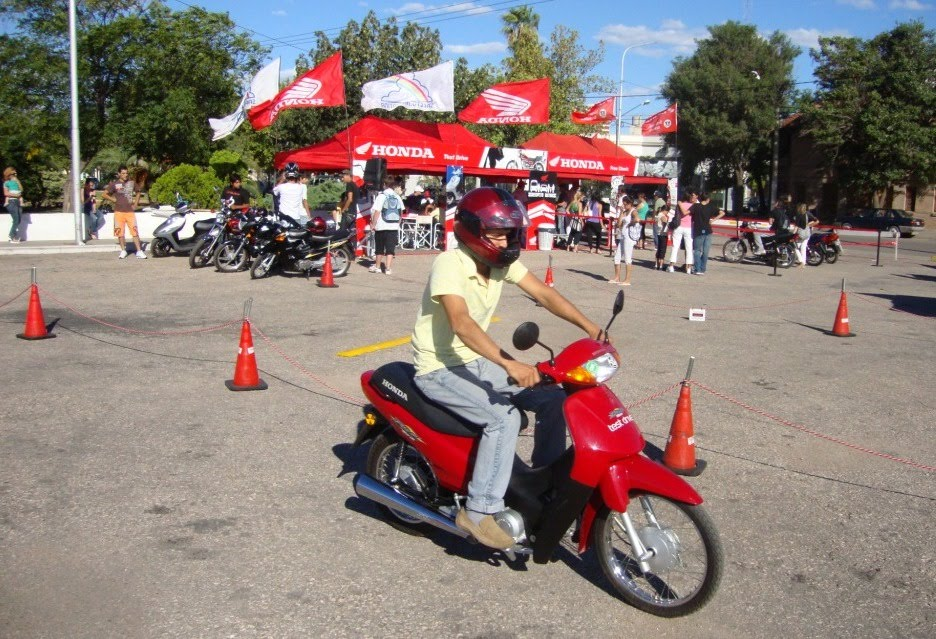 Manejo Seguro Honda Dijo Presente En La Pampa Motos