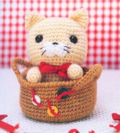 Amigurumi Tiger : ...Fazendo Croch?...: Gatinho - Amigurumi