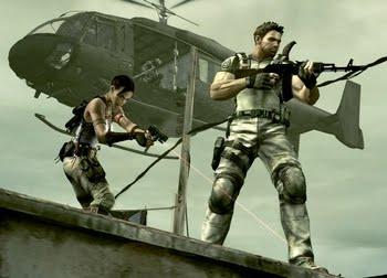 In Games -                                       2  Resident Evil 5Sig 556 Resident Evil 5