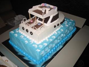 Fun In Cake Decorating: Yacht Cake