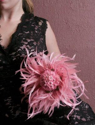 A Chic Alternative To Traditional Wedding Bouquets Feathers