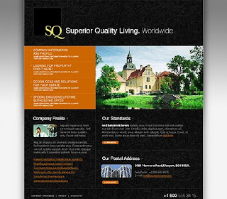 Template for Real Estate Company