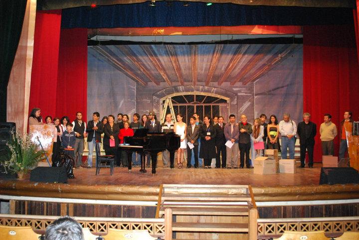 Poetas del primer festival de poesia guatemalteca