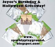 Joyce's birthday giveaway!