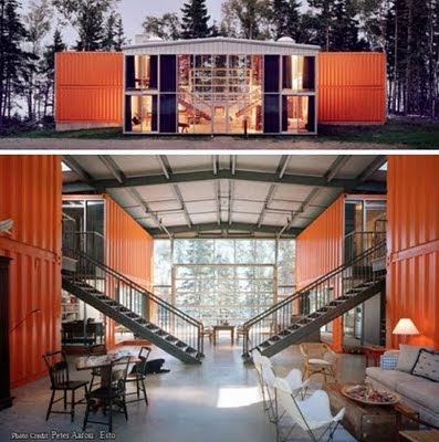12 Shipping Container House