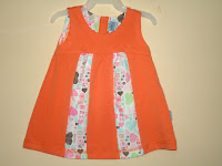 Dress Pyshel Orange