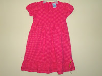 Dress Pyshel Pink Motif Polkadot