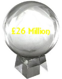£26 million crystal ball