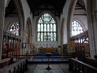Inside Rye Church