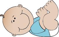 Baby boy cartoon clipart