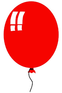 red balloon coincidence clipart