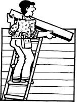 Roofer clip art