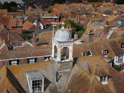 View from Rye Church Tower