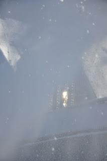 sniezyca nad swiatynia Wang