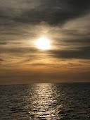 Zonsondergang Surinamerivier