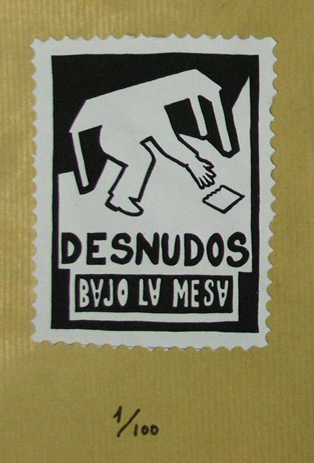 DESNUDOS BAJO LA MESA