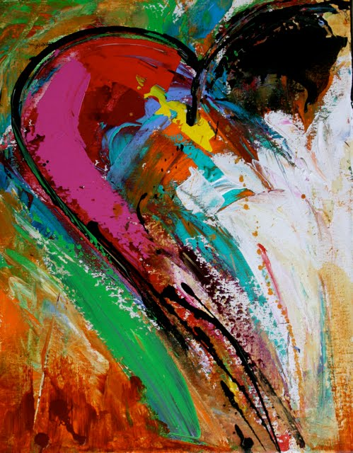 best abstract paintings love wwwimgkidcom the image