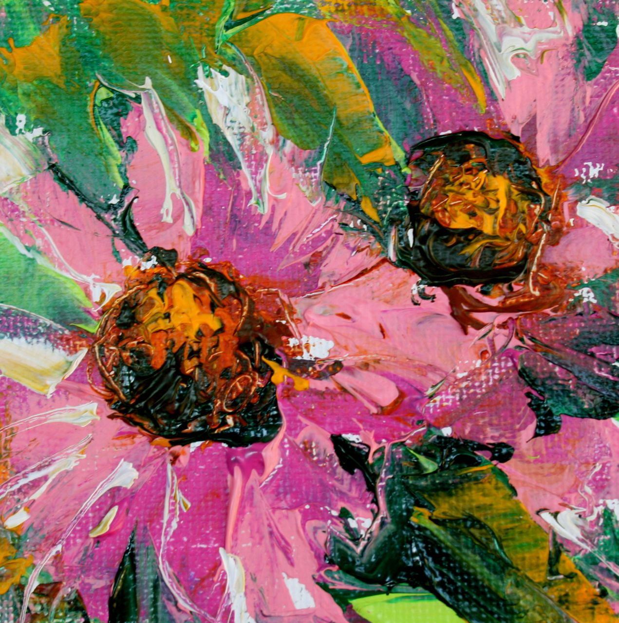 Daily Painters Abstract Gallery Pretty In Pink Contemporary