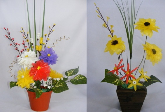 Cara Membuat Kerajinan Bunga dari sabun,sedotan
