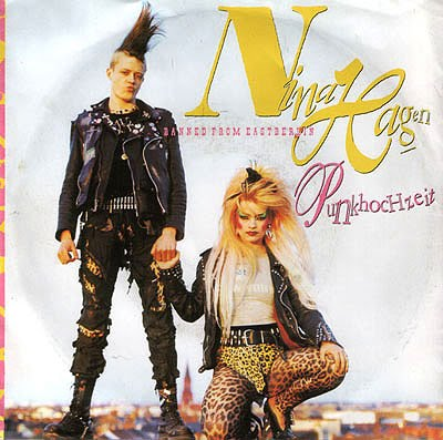 Discotrax 80 S Nina Hagen Punk Hochzeit 1987 45rpm