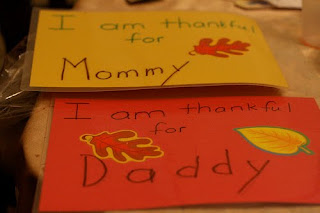 Thanksgiving craft idea: placemats