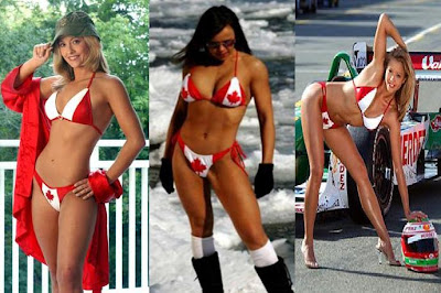 Completely agree Bikini canada flag talk this