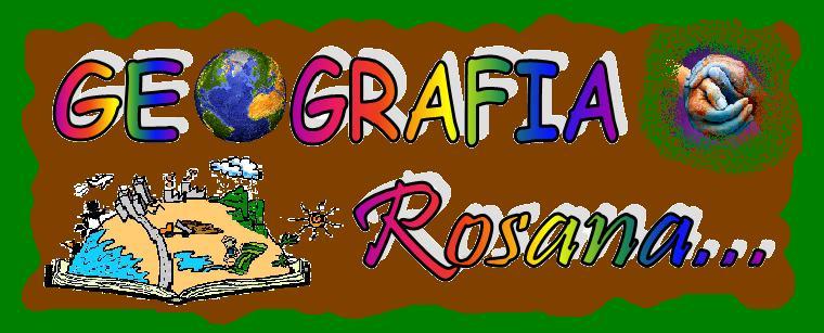 Blog de Geografia Rosana.