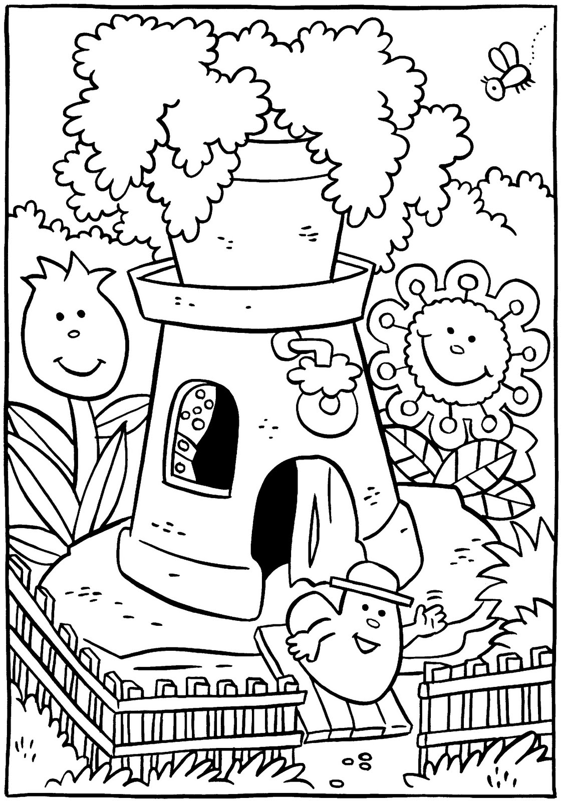 little house coloring pages - photo#23