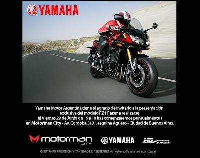 Motos Argentinas News Presentaci N A La Prensa Yamaha Fz1