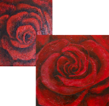 Red Rose Canvas Art