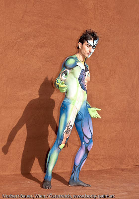 Sexy Male Body Paint