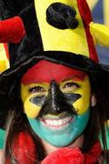 Face Painting Art In 2010 World Cup South Africa